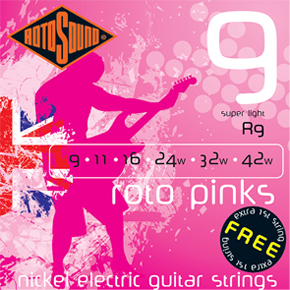 Rotosound Roto Pinks - Super Light .09 - .42